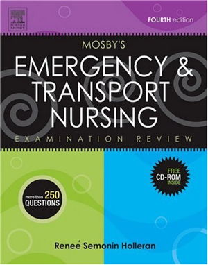 Cover art for Mosby's Emergency and Transport Nursing Examination Review