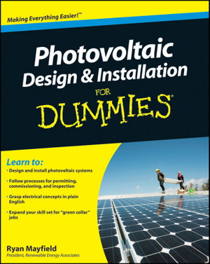 Cover art for Photovoltaic Design and Installation For Dummies