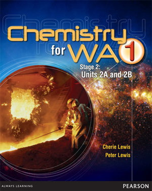 Cover art for Chemistry for WA 1 Units 2A and 2B