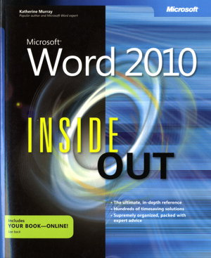 Cover art for Microsoft Word 2010 Inside Out