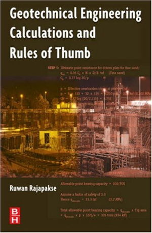Cover art for Geotechnical Engineering Calculations and Rules-of-Thumb