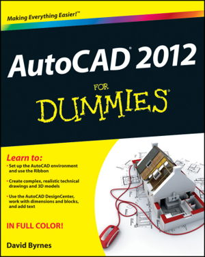 Cover art for AutoCAD 2012 For Dummies