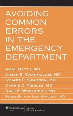 Cover art for Avoiding Common Errors in the Emergency Department