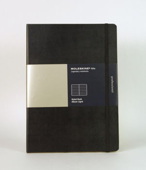 Cover art for Moleskine Folio A4 Ruled Notebook Black